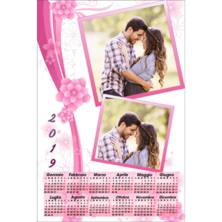 Calendario Personalizzato Love 017
