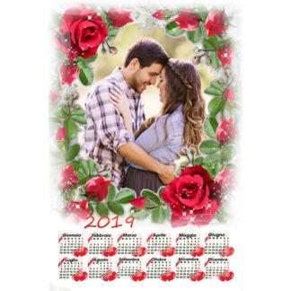 Calendario Personalizzato Love 028