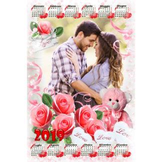 Calendario Personalizzato Love 035