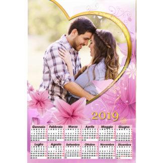 Calendario Personalizzato Love 044