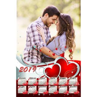 Calendario Personalizzato Love 046